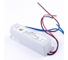 Блок питания для светодиодной ленты 12В, 4А, 50Вт, IP67, герметичный в пластиковом корпусе