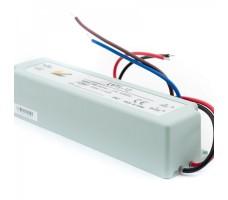 Блок питания для светодиодной ленты 12В, 6,5А, 75Вт, IP67, герметичный в пластиковом корпусе