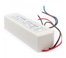 Блок питания для светодиодной ленты 12В, 8,3А, 100Вт, IP67, герметичный в пластиковом корпусе