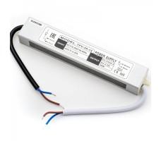 Блок питания для светодиодной ленты 12В, 2,5А, 30Вт, IP67, герметичный в металлическом корпусе
