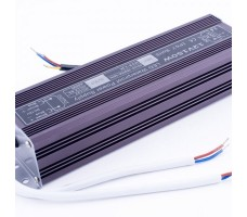 Блок питания для светодиодной ленты 12В, 12,5А, 150Вт, IP67, герметичный в металлическом корпусе