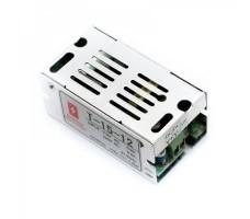 Блок питания для светодиодной ленты 12В, 15Вт, 1,25А, IP20, корпус из перфорированного металла