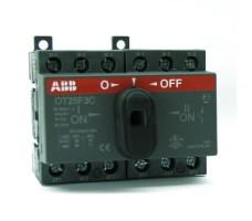 Реверсивный рубильник ABB OT25F3C