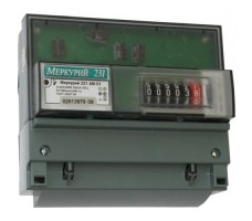 Счетчик электроэнергии Меркурий 231 АМ-01 трехфазный однотарифный