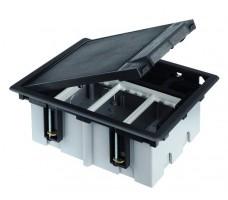 Connect Люк на 1 CIMA-модуль (2 модуля 45х45 мм) глубина 90-120мм посадка 170х115мм max 400кг графит