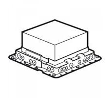 Коробка монтажная для лючков 18 модулей