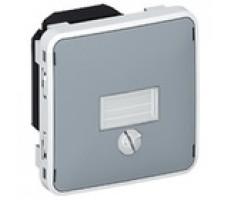 Legrand Plexo сумеречный выключатель IP55 (цвет серый)