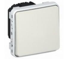 Legrand Plexo переключатель одноклавишный IP55 (цвет белый)