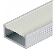 Профиль для светодиодной ленты прямой накладной П-образный 2м 2006х2