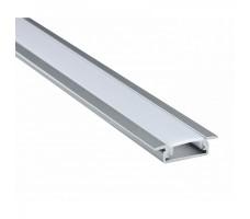 Профиль для светодиодной ленты встраиваемый для пола 2м FLOOR 608