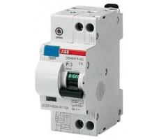 Дифференциальный автомат ABB 2-полюсный С10 30мА