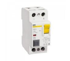 Выключатель дифференциального тока (УЗО) 2п 16А 10мА ВД1-63 АС