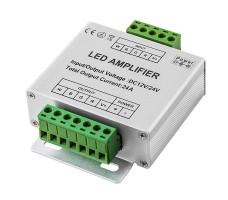 RGB+W усилитель контроллера светодиодной ленты 12/24V 24А