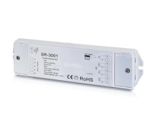 RGB усилитель контроллера светодиодной ленты 12-36VDC 4*5A ES-3001