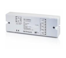 Контроллер для светодиодной ленты RGB, RGB+W, MIX RF 12-36VDC 4*8A RX-GR