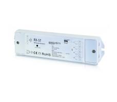 Контроллер для светодиодной ленты RGB, RGB+W, MIX RF 12-36VDC 4*5A RX-ST