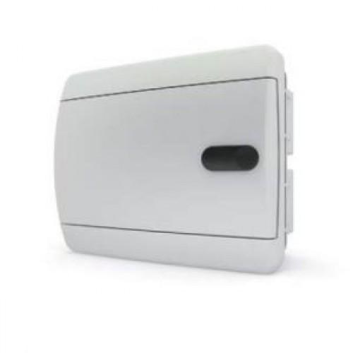 Tekfor бокс встраиваемый 6 мод. IP41, непрозрачная белая дверца