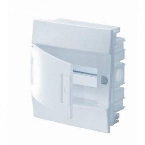 Щит распределительный встраиваемый ЩРв-п Mistral41 6М пластиковый непрозрачная дверь без клемм
