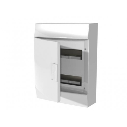 Щит распределительный навесной ЩРн-п Mistral41 24М пластиковый непрозрачная дверь без клемм