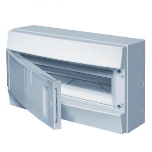 Щит распределительный навесной ЩРн-П-12 пластиковый непрозрачная дверь IP65 серый Mistral65 без клемм
