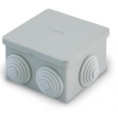 Коробка распределительная 80х80х55 с отверстиями IP54