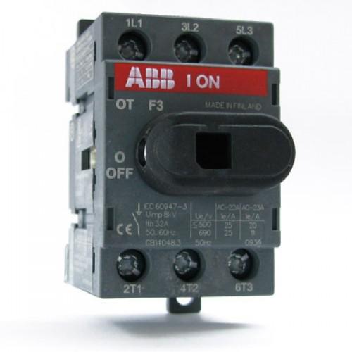 Рубильник ABB OT25F3