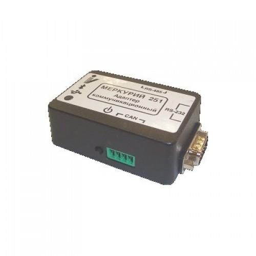 Адаптер Bluetooth-CAN/RS485/RS232 Меркурий 251