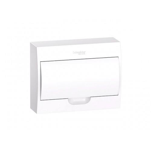 Щит распределительный навесной белый дверь белая на 12 модулей IP40 Easy9