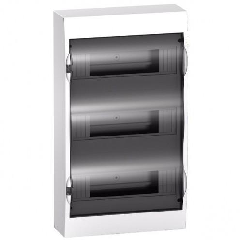 Щит распределительный встраиваемый белый дверь прозрачная на 36 модулей IP40 Easy9