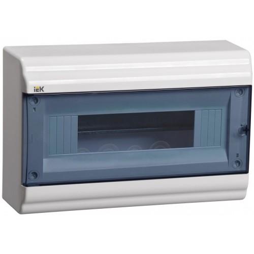 Щит распределительный навесной ЩРн-П-12 пластиковый прозрачная дверь IP41 PRIME