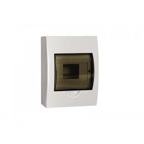 Щит распределительный навесной ЩРн-П-6 IP41 пластиковый прозрачная дверь
