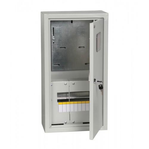 Щит учетно-распределительный навесной ЩУРн-3/9зо с окном с замком IP31