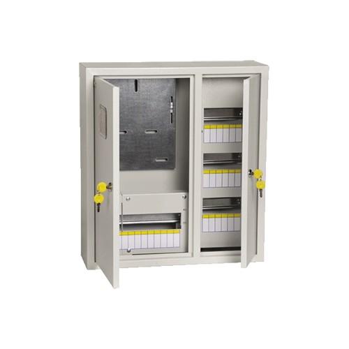 Щит учетно-распределительный навесной ЩУРн-3/30зо IP31 замок окно