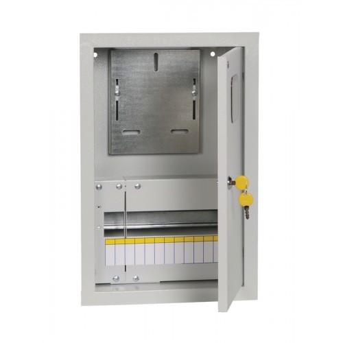 Щит учетно-распределительный встраиваемый ЩУРв-1/12зо IP31 замок окно