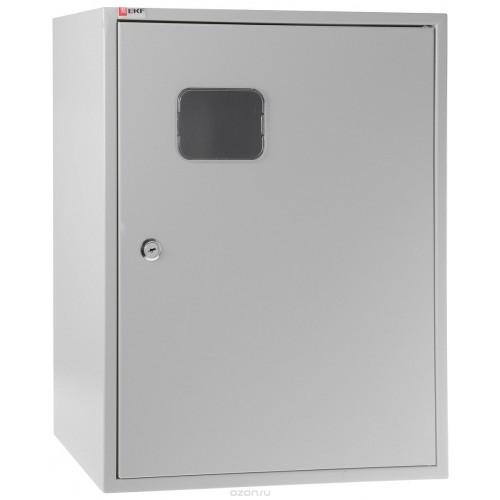 Щит учетно-распределительный навесной ЩУРн-3/30зо IP31 замок окно вертикальный DIN-рейк